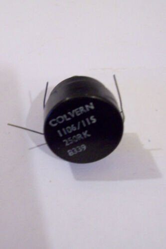 NOS CALVERN Trimpot 250 Ohm linear 8mm slotted shaft 6.5mm dia.