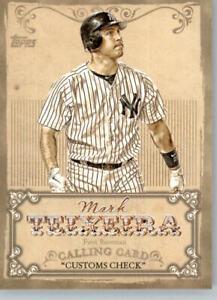2013 Topps Calling Cards #CC-7 Mark Teixeira - New York Yankees