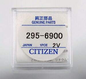 Citizen-295-69-295-6900-Eco-Drive-Capacitor-Battery-Factory-Sealed-Genuine-Part