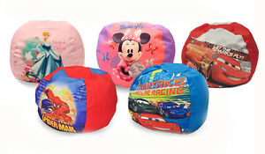 Image Is Loading Disney Character Kids Round Bean Bag Chair Toddlers