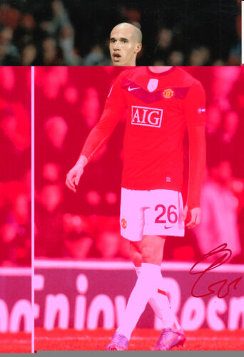 Manchester United Hand Signed Gabriel Obertan Photo 12x8.