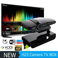 HD23 Camera Android Smart TV Box Quad Core Android 1G/8G TV Receiver Kodi Settop