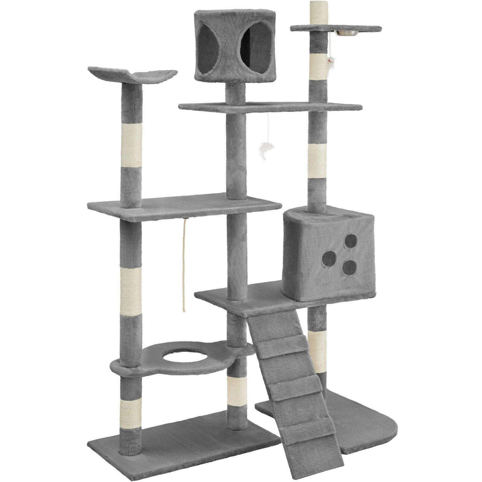 GATTO albero graffiare graffiare graffiare post Maglie taglienti e piallanti centro attività giocattolo Colonna Sisal db34cb