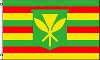 Hawaii State 3x5 Flag 631 Old Style Hawaiian 5x3 Kanaka Maoli Polyester Banner