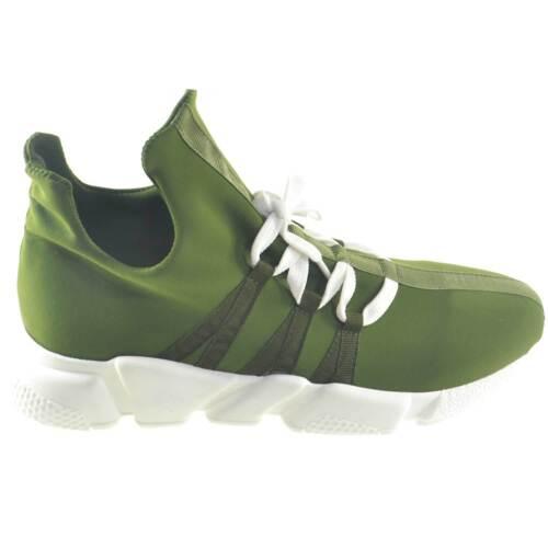 Moda Calzino Sneakers Uomo Lycra Bassa Made Verde In Gio Italy Tessuto  Scarpe 1vXSqpffw 0c8b49e198a