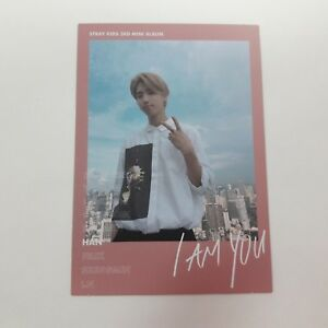 Details about Stray Kids 3rd Mini I AM YOU Official Original HAN photocard  1p K-POP Idol QR