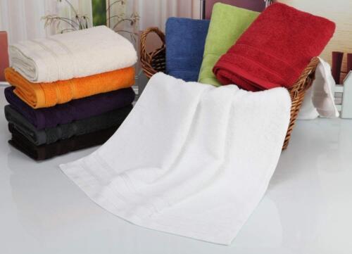 Fourscom Serviette//Duschtuch//Coton 500g//m² 50 x 100 cm Blanc 3003 W