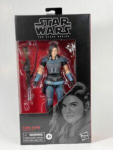 Star Wars The Mandalorian black series 6 inch Cara Dune figure sealed!