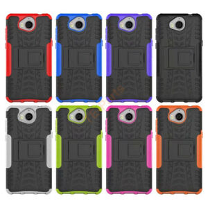 san francisco 1dd6d 4721f Details about Heavy Duty Tough Case Cover For Huawei Y6 2017/Huawei Nova  Young Mya L41 Mya L11