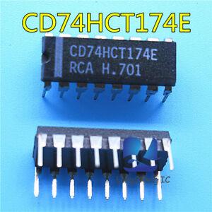 5pcs-CD74HCT174E-DIP-New