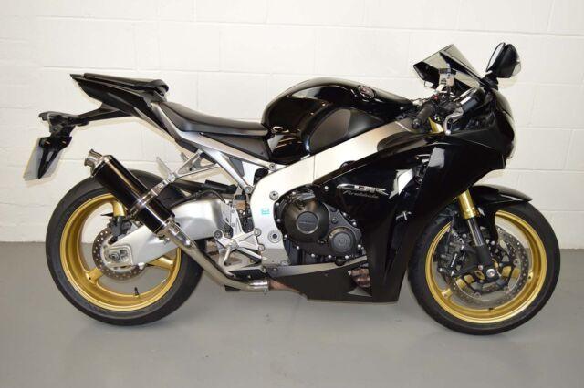 Honda CBR1000RR 08-13 Demon Satin Black Stubby Moto GP High Level Exhaust