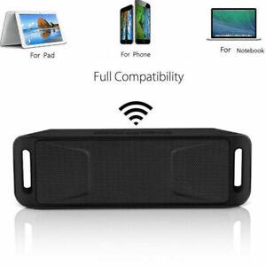 LOUD Bluetooth Portable Wireless Speaker Waterproof Outdoor Stereo Bass USB/FM