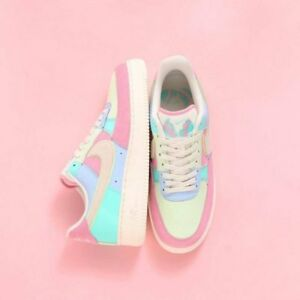 premium selection 17aaf 8c634 Details about Nike Air Force 1 Low Easter (2018) Blue/Pink/Sail AH8462-400