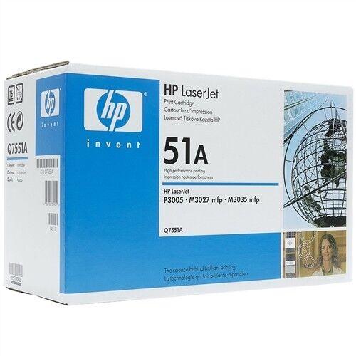 Originale HP Q7551A Toner 51A nero