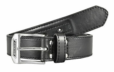 Dickies Industrial Strength Black Leather Belt - 11DI02N7- Size 32 - 44 (NWT)
