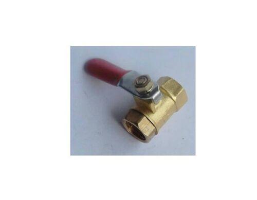 "10pcs 1//4/"" BSP Female Full Ports Connection Brass Thread Pipe Ball Valve"