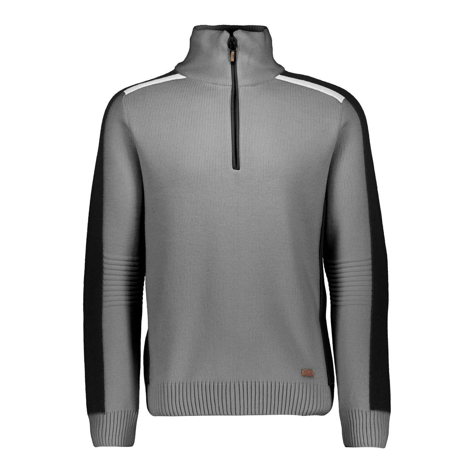 CMP F. LLI CAMPAGNOLO Men's Leisure Ski Knit  Sweater Water Repellent Grey  waiting for you