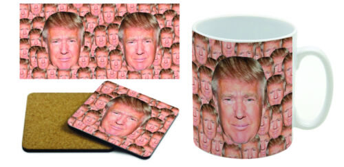 President Trump Annoying Mug /& Coaster Set Donald Trump
