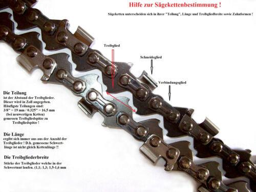 Sägekette 38 cm für Kettensäge Husqvarna 266XP 268XP 272XPG 272XP 268 272