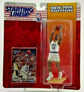 1994 KARL MALONE Starting Lineup Figure SLU Kenner Utah Jazz USA Basketball