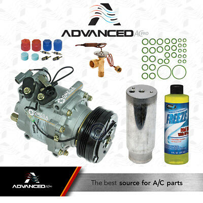 NEW A//C Compressor Kit w//Drier Acura EL Honda CR-V Civic /& Del Sol