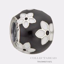Authentic Pandora Sterling Silver Enamel Mystic Flower Bead 791398ENMX *SPECIAL*