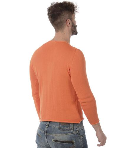Maglia Made Daniele Arancione Sweater Fmcl33701 Italy 6 Alessandrini In Uomo twtf6qUrZ