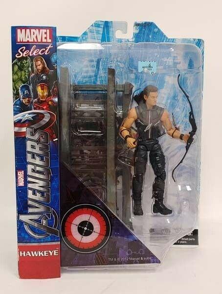 Diamond Select Toys Marvel Select The Avengers Movie Hawkeye MOC