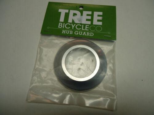 HUB GUARD 7075 ALUMINIUM FRONT// REAR BLACK or SILVER NEW BMX TREE BICYCLE CO