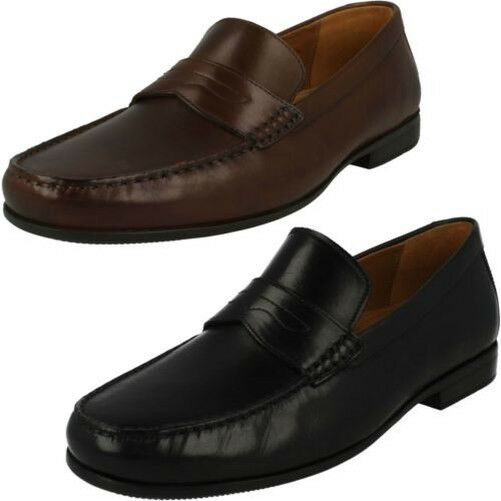 Clarks Schuhe Herren Slipper Gr.10 (44,5) Neu: