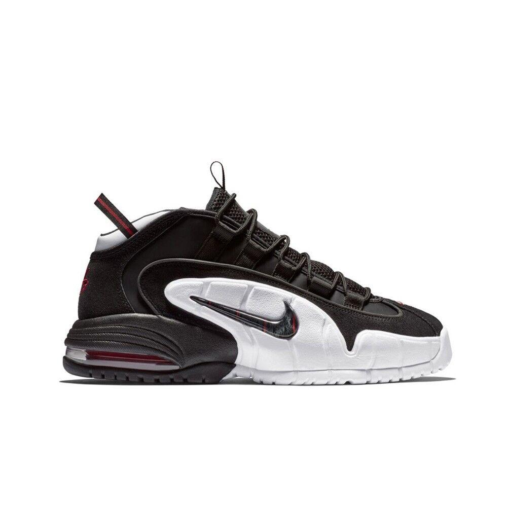 Nike Air Max Penny (Black Black-White University Red) Men's shoes 685153-003