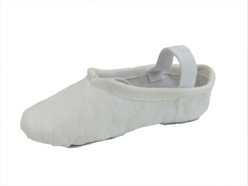 Ballet Shoes Full Sole Leather Pink Black White