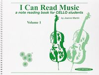 I Can Read Music: For Cello, Volume I By Joanne Martin, (spiral-bound), Alfred M on sale