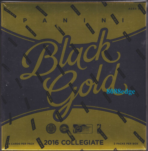 AUTO 2016 PANINI BLACK GOLD COLLEGIATE NCAA BASKETBALL HOBBY FACTORY SEALED BOX