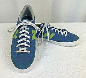 New-Balance-Mens-Sneakers-Size-9-Blue-Green-Suede
