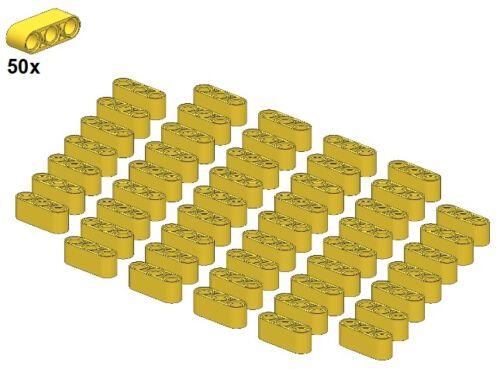1x3 50Stk Ger - Balken Yellow Technic Liftarms 32523-03 Gelb LEGO®