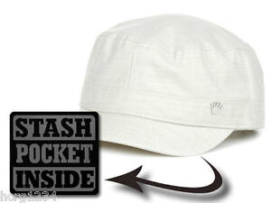 19aa8cd5fb843 No Bad Ideas NBI Hooked Up Off White Castro Style Cap Hat w Stash ...