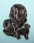IRON-ON EMBROIDERED PATCH - NEWFOUNDLAND - DOG