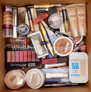Details about Wholesale Maybelline Mixed Makeup Lot Assorted Cosmetics -  choose piece count