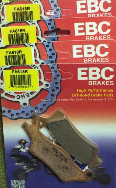 Lot of three packs! EBC FA618R R Series Long Life Sintered Brake Pads