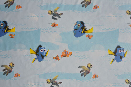 Quality 100/% Cotton Children/'s 3 Designs Disney Pixar Finding Dory Fabric