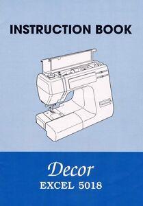 Instruction manual: janome 5018 – wellington sewing centre.