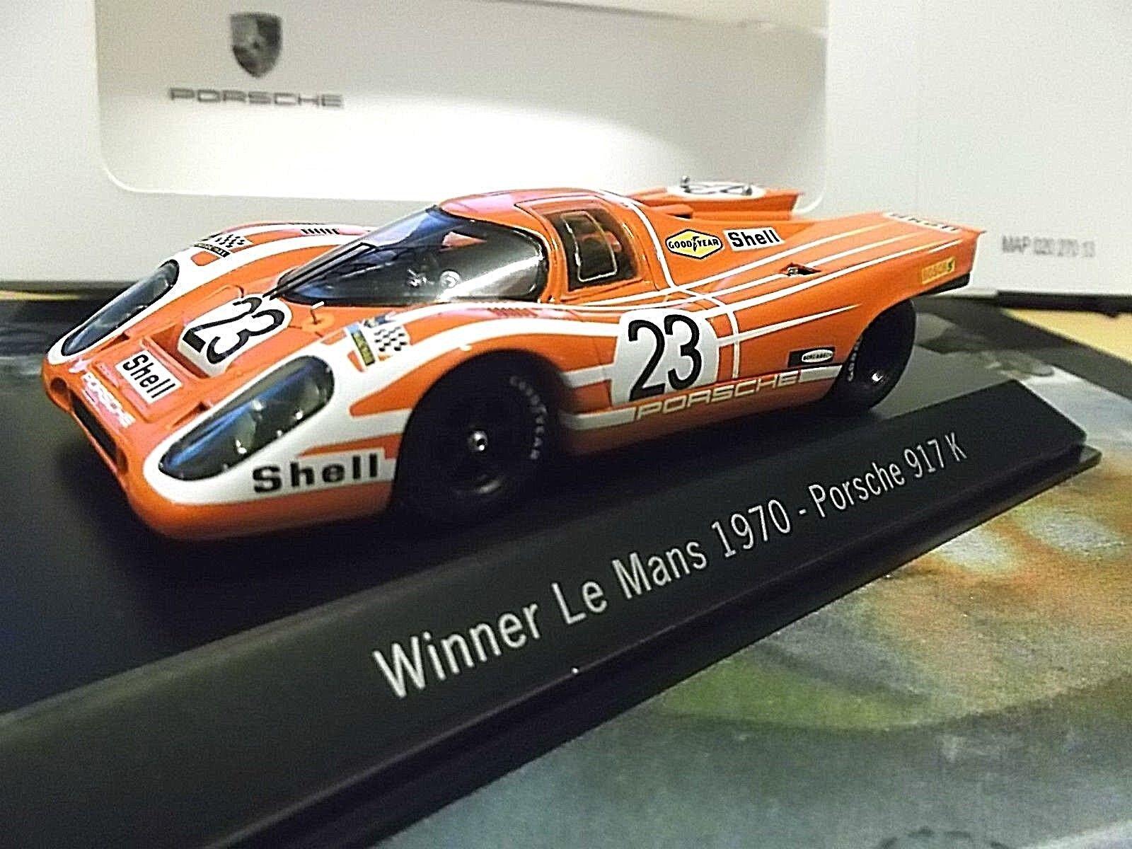 Porsche 917k 917 le mans winner 1970 el señor Mann Attwood vencedor res Spark 1 43