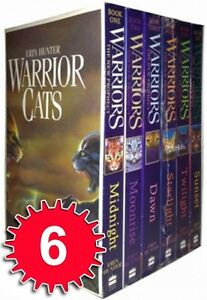 Erin-Hunter-Warrior-Cats-6-Books-Collection-Set-The-New-Prophecy-Series