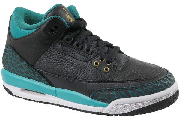 b31e595d753 Nike Air Jordan 3 Retro GG III Jaguars Rio Teal Kids Aj3 Basketball 441140-018  UK 3.5 for sale online   eBay