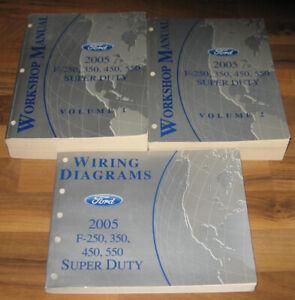 2005 FORD TRUCK F250 F350 450 550/SUPER DUTY Service ...