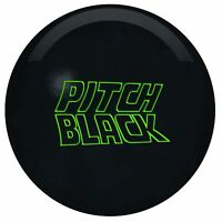 15lb Storm Pitch Black Solid Urethane Bowling Ball For Tough Lane Conditions