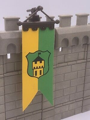 PLAYMOBIL VINTAGE 3666 3839 CASTLE KNIGHTS PULLEY WEATHERVANE BANNER FLAG-CHOICE