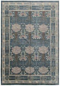 12x15 Vintage Arts Crafts Rug Rare