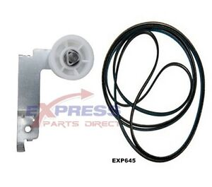 EXP645-Samsung-Dryer-Belt-amp-Idler-Pulley-6602-001655-DC93-00634A-DC96-00882C